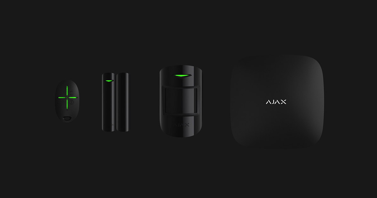 Ajax Products Wireless Alarm System And Smart Home