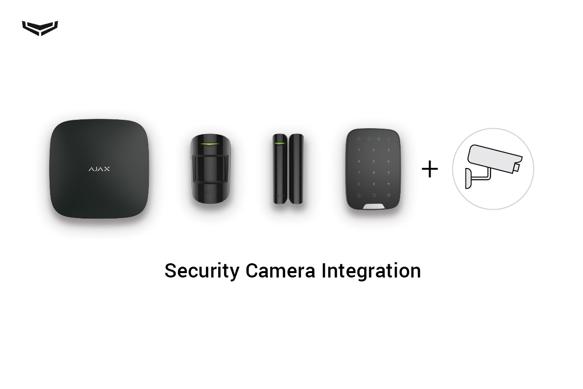 How to connect security cameras to the Ajax security system