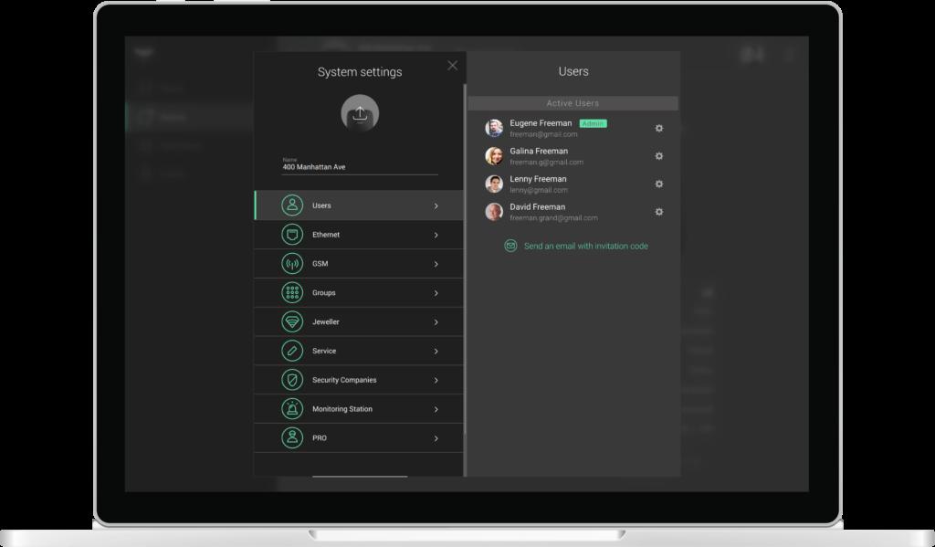installation users Ajax PRO Desktop: app for real PROs