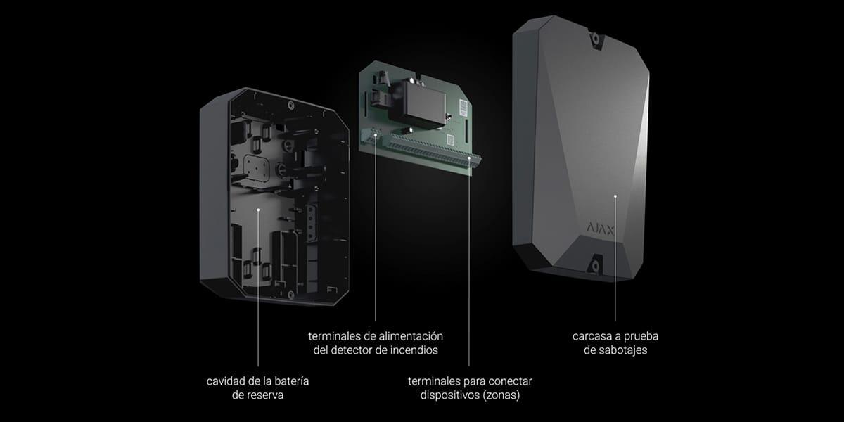 ajax multitransmitter renovation