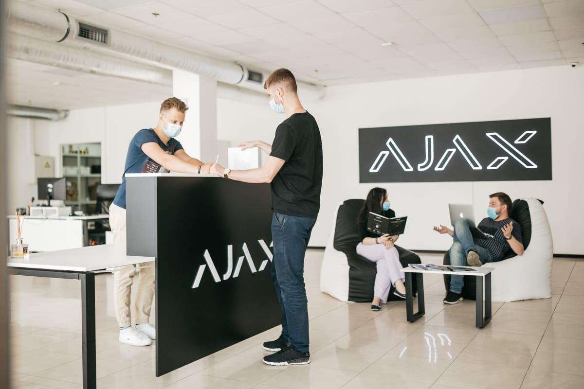 ajax сервісний центр